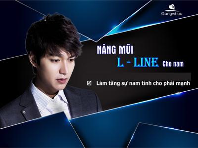 Nâng mũi LLine cho Nam