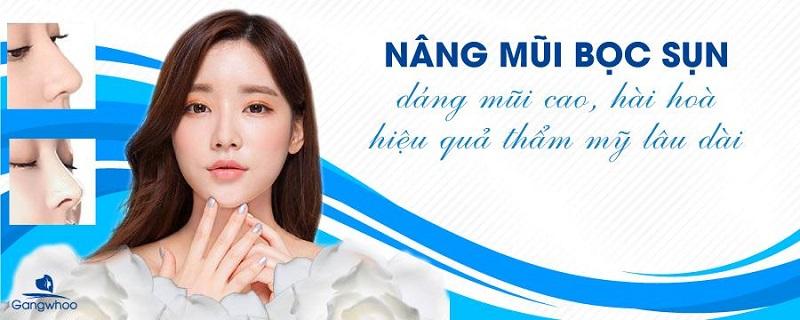 Nâng Mũi Bọc Sụn Tai Cao Thanh Thoát #1 Sửa Mũi Đẹp TPHCM 2021