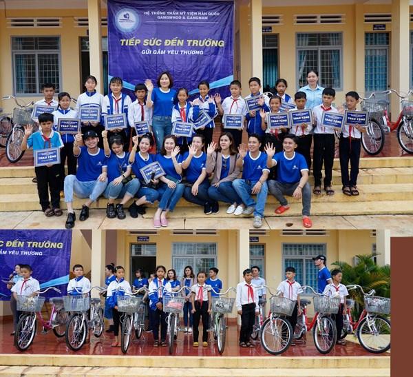 """TMV Gangwhoo """"Tiếp sức đến trường cho trẻ em vùng sâu vùng xa""""."""
