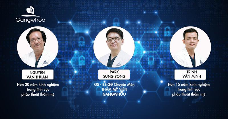 bác sĩ Trịnh Văn Minh cùng các chuyên gia