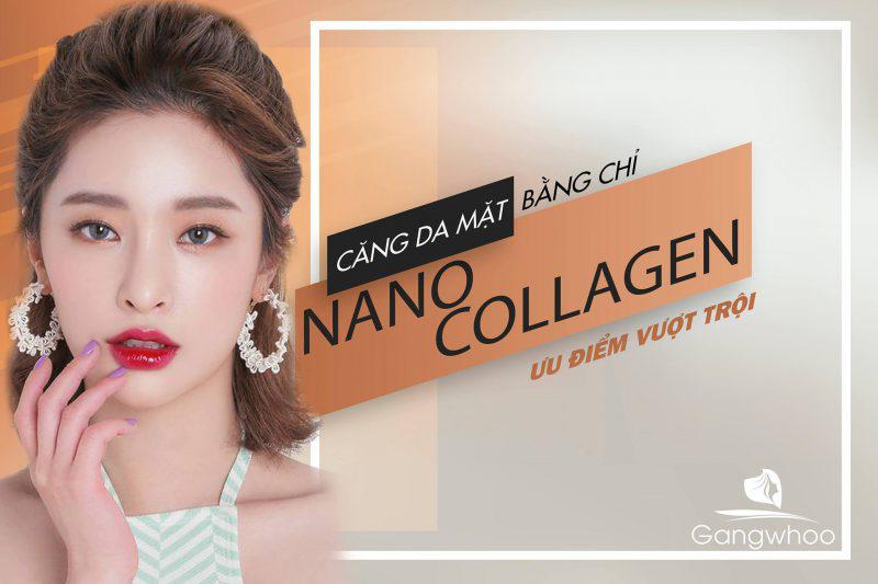 """""""Cơn Lốc"""" Căng Da Mặt Bằng Chỉ Nano Collagen"""