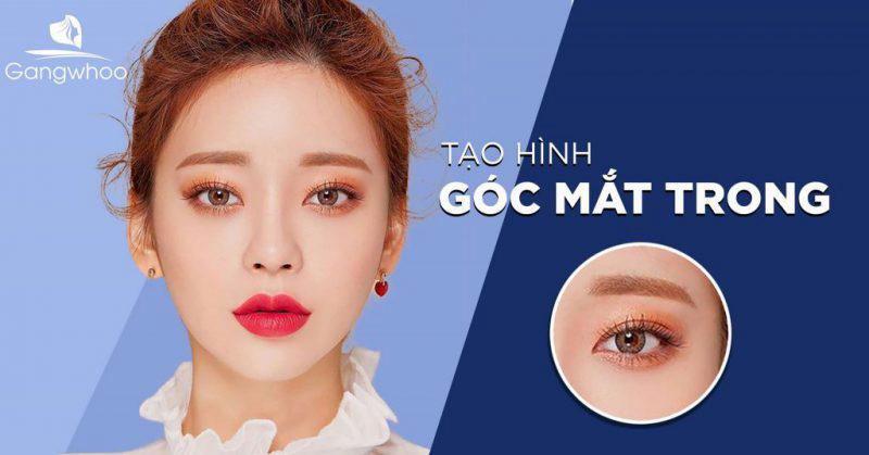 Tạo hình góc mắt trong Gangwhoo