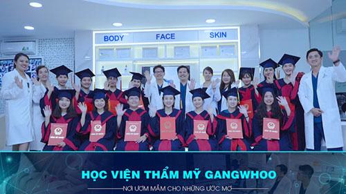 Cơ hội được đào tạo thẩm mỹ chuyên nghiệp tại Thẩm mỹ viện Gangwhoo