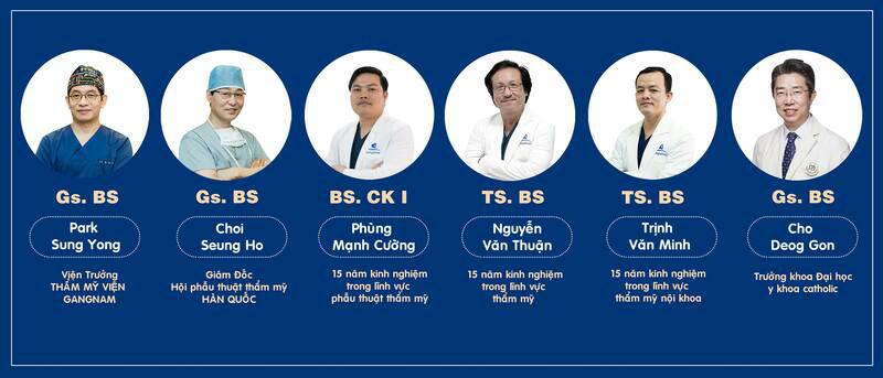 Đội ngũ bác sĩ tay nghề cao - Gangwhoo