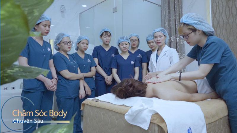 Chăm sóc body chuyên sâu - Gangwhoo