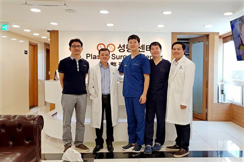 Đội ngũ bác sĩ Gangwho tại Hàn Quốc