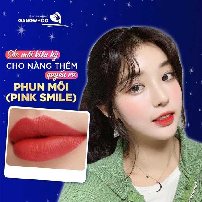 Phun Môi (Pink Smile) 1