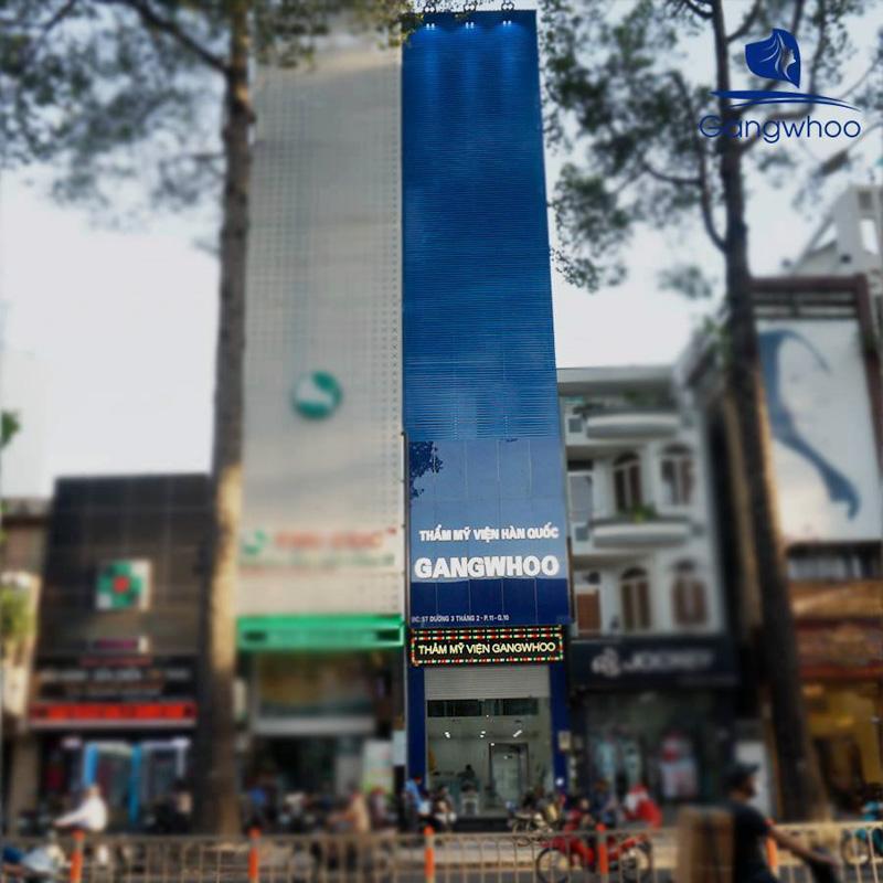 Thẩm mỹ viện Gangwhoo, số 57, đường 3 tháng 2, phường 11, quận 10, thành phố Hồ Chí Minh.