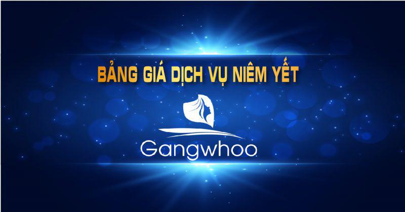 Bảng giá Thẩm mỹ viện Gangwhoo