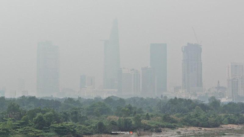 Ô nhiễm không khí gây tổn thương da và các bệnh đường hô hấp 1