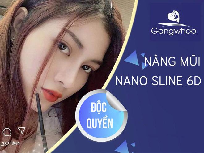 Nâng Mũi Nano Sline 6D – Công Nghệ Phẫu Thuật Nâng Mũi Thời Thượng Chỉ Có Tại Gangwhoo