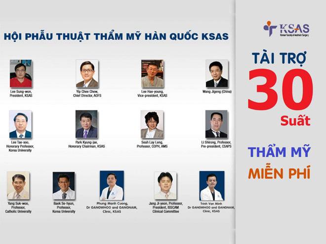 KSAS tài trợ 30 suất phẫu thuật thẩm mỹ miễn phí