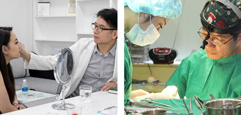 Công nghệ Nâng mũi Nanoform đã được GS – Bác sĩ Hàn Quốc Park Sung Yong chuyển giao độc quyền cho Gangwhoo