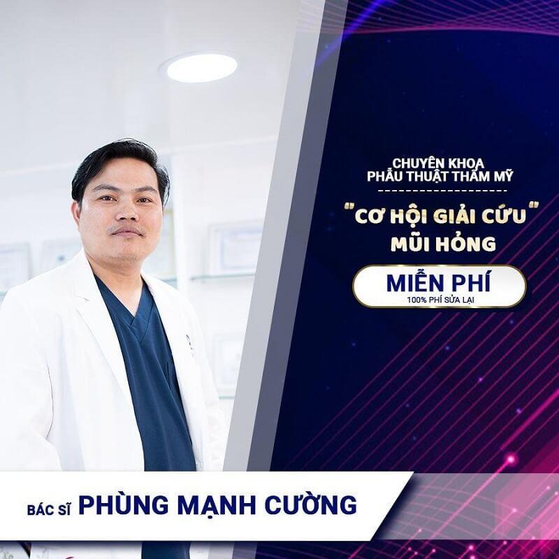 Bác sĩ Cường phẫu thuật thẩm mỹ miễn phí