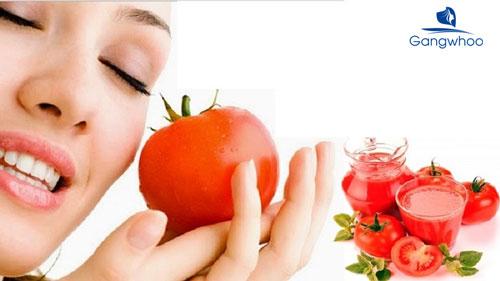 Trị da đầu nhờn bằng cà chua