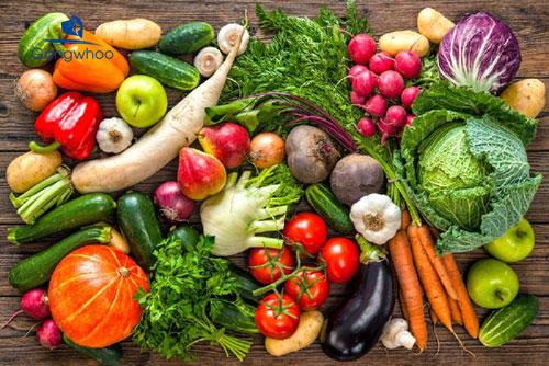 Ăn nhiều rau xanh là cách làm tóc hết dầu hiệu quả