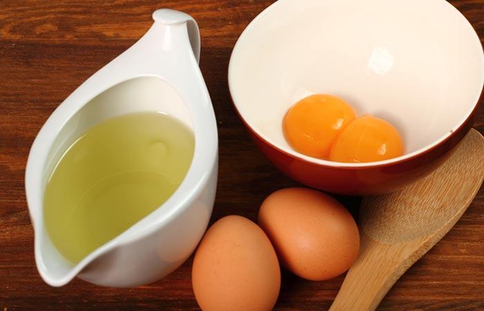 Cách làm trắng da bằng trứng gà và dầu ô liu