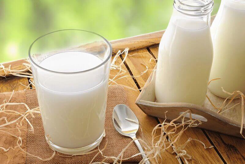 Sữa tươi giúp tăng cường độ ẩm cho da