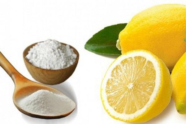 Làm trắng rắng tại nhà hiệu quả bằng baking soda và chanh