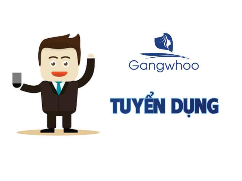 Gangwhoo tuyển dụng nhân viên