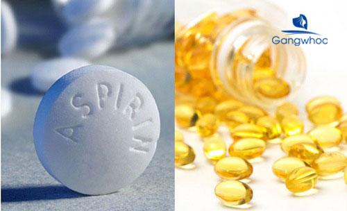 cách làm mặt nạ vitamin E với aspirin