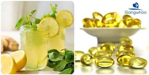 đắp mặt bằng vitamin E và chanh có tác dụng gì?