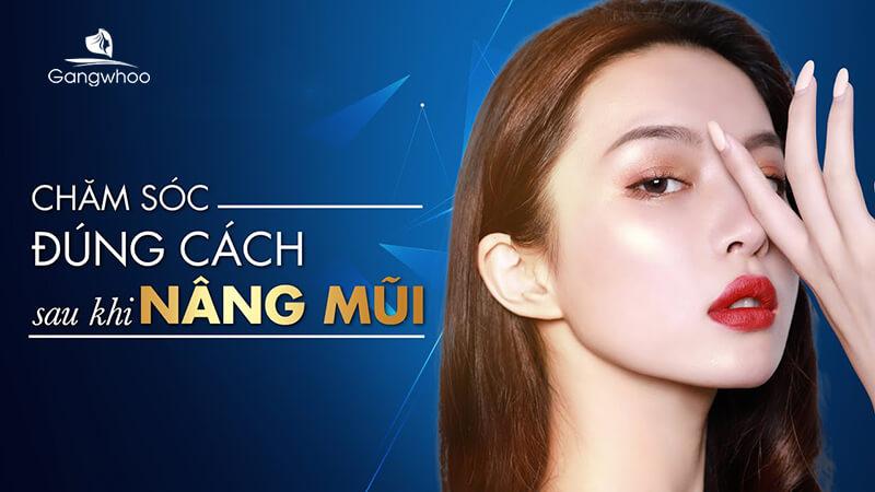 chăm sóc sau khi nâng mũi đúng cách để có dáng mũi tự nhiên