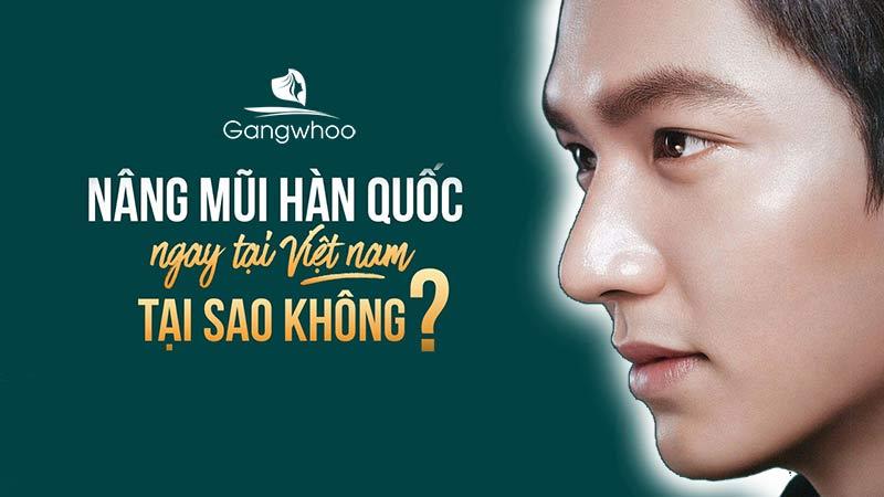 """Nâng Mũi Nam Phong Cách Hàn Quốc Chuẩn """"Nam Thần"""""""