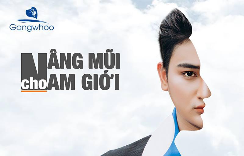 Nâng Mũi Nam Giới Dáng L-Line Hóa Nam Thần HOT 2021