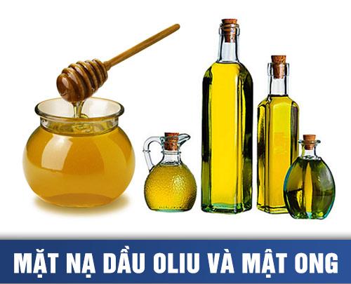 mặt nạ dầu oliu và mật ong giúp trị tàn nhang