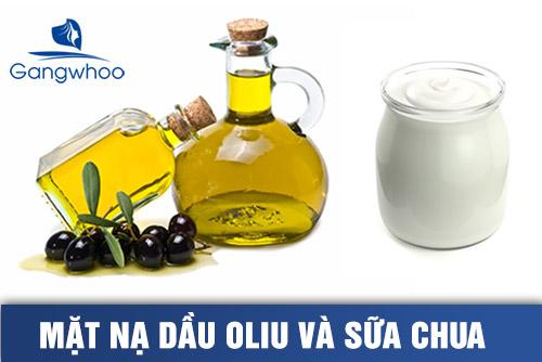 Mặt nạ dầu oliu và sữa chua giúp dưỡng trắng da