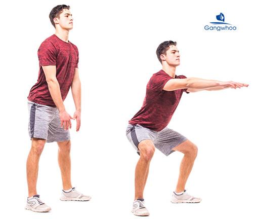Sumo Squat giúp chân thon gọn hiệu quả