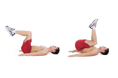 Bài tập giảm mỡ bụng: Gập bụng ngược (Reverse Crunch)