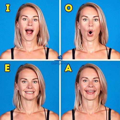 """Nói liên tiếp """"I"""", """"O"""", """"E"""", """"A"""" cũng là cách làm giảm mỡ mặt"""