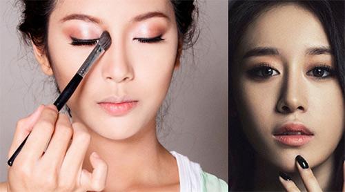 Cách trang điểm mũi tẹt