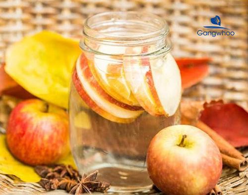 Detox giảm béo bắp tay từ táo và cam