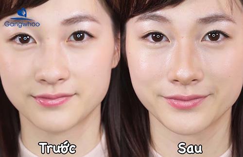 Make up lỗ mũi to