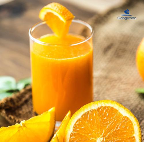 Mặt nạ đậu đỏ và nước ép cam