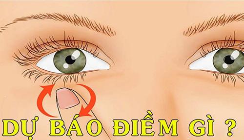 Mắt trái giật là điềm gì?