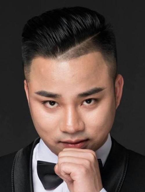con trai mũi tẹt nên để kiểu tóc nào? Tóc Pompadour năm 2019