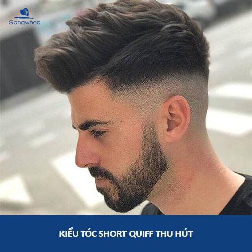 kiểu tóc cho nam mũi tẹt