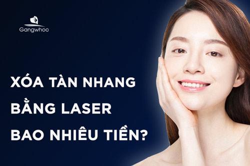 [GÓC TƯ VẤN] Xóa Tàn Nhang Bằng Laser Bao Nhiêu Tiền?
