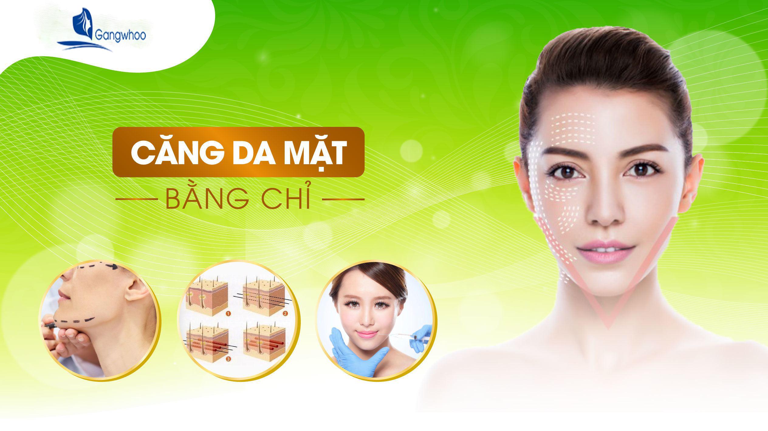 Căng Da Mặt Bằng Chỉ Collagen Bao Nhiêu Tiền? 1