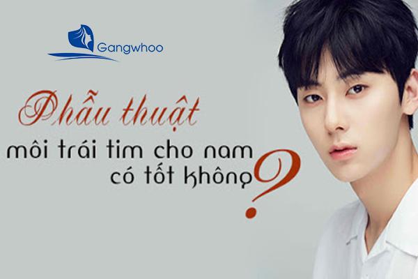 """Sửa Môi Nam – Trở Thành """"Hot Boy"""" Sau 30 Phút"""