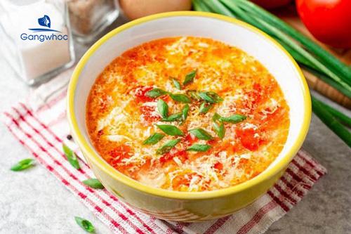 Giảm cân bằng cà chua với món canh cà chua