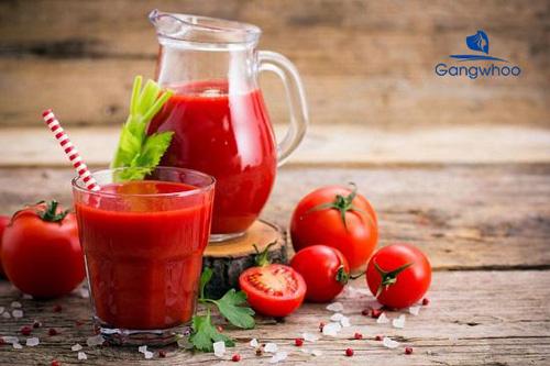 Cách làm nước ép cà chua giảm cân hiệu quả