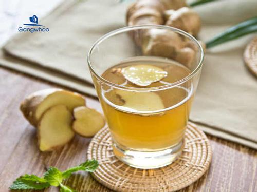 nước uống giảm cân từ gừng tươi