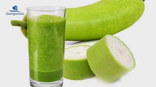 nước uống giảm cân với bí đao