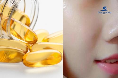 Trị sẹo rỗ bằng vitamin E nguyên chất