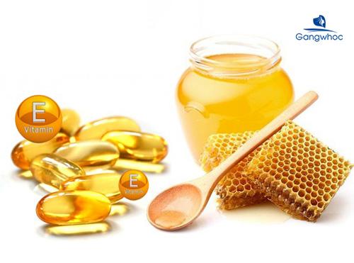 Cách trị sẹo rỗ bằng vitamin E và mật ong